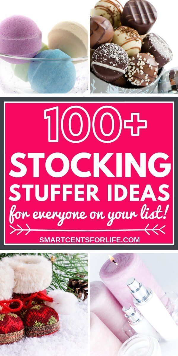 100+ Stocking Stuffer Ideas For Everyone on Your List Christmas