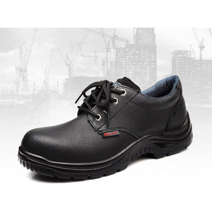 Steel Toe Safety Shoes Steel Insole Leather Sneakers Riding Motorcyle Ankle Boot…