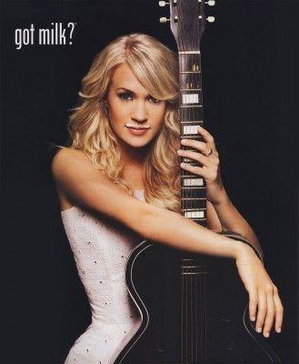 Carrie Underwood / got milk ads - Google Search