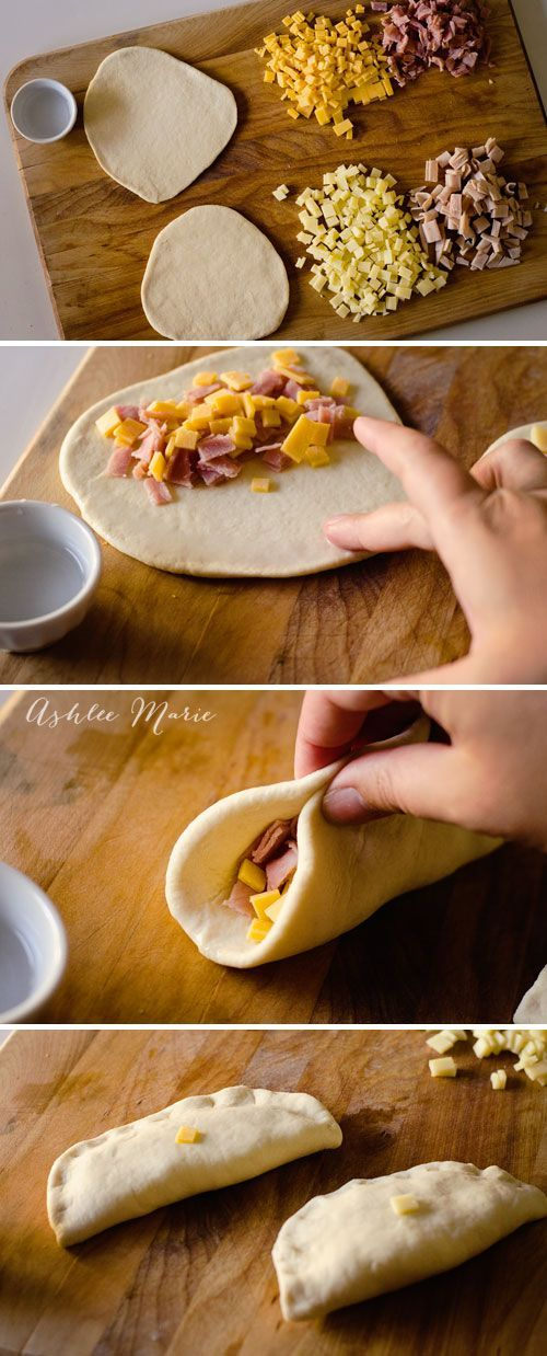 simple meat and cheese hot pockets taste great and are easy to make