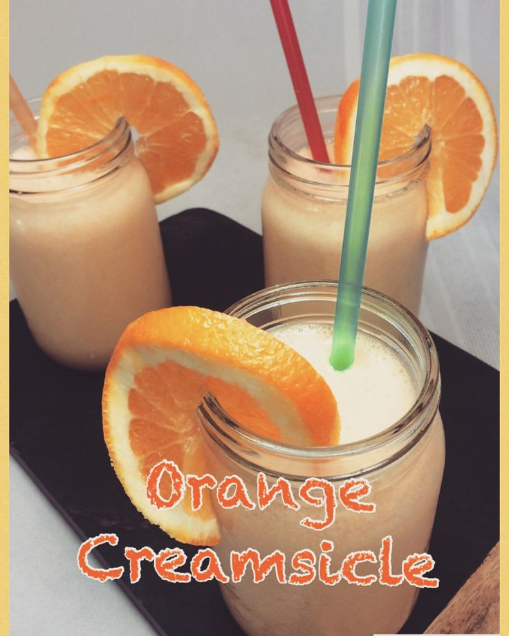 Creamsicle drink non alcoholic for Cocktail orange