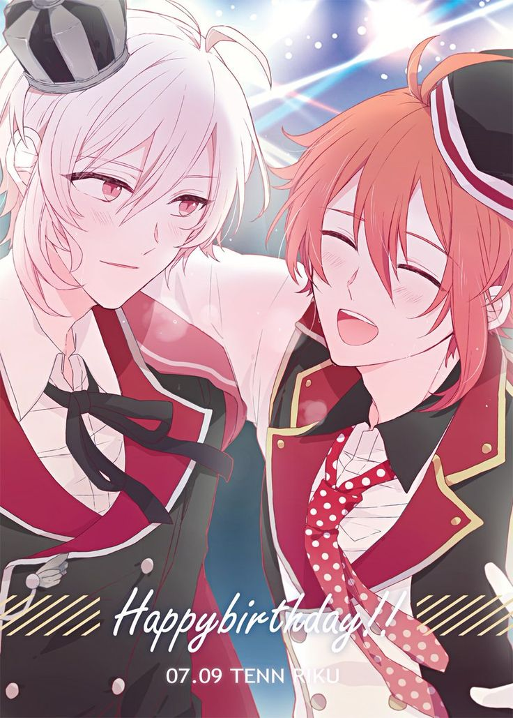 Idolish7 Riku and Tenn