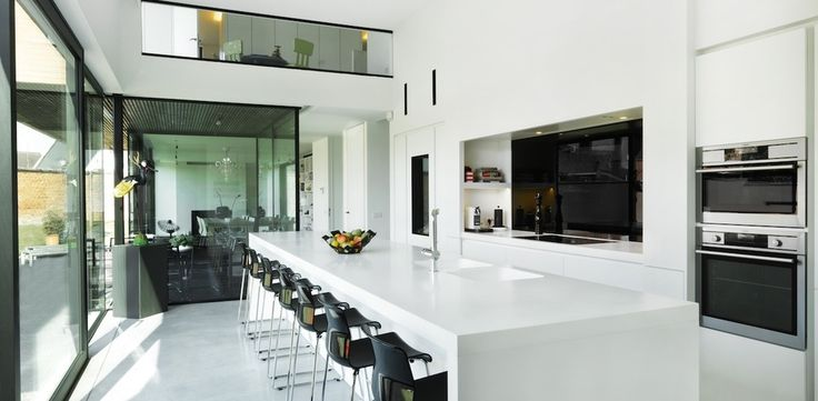 Woning ld hedendaags modern gc architecten diapal for Hedendaags interieur