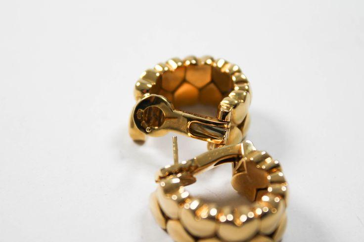 Cartier Ohrringe Gelbgold Markenschmuck
