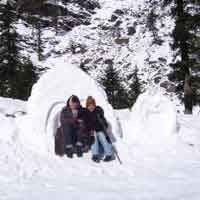Snow places in Manali