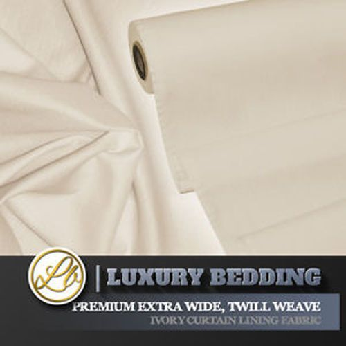 Curtain Lining Fabric Extra Wide 108