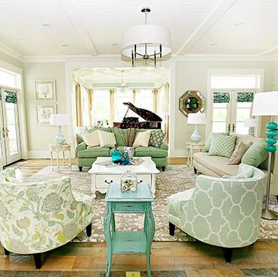 58 best craft storage and organization images on pinterest for Shore house decorating ideas