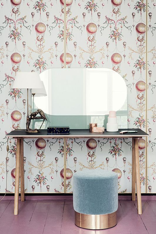 a little retro glam dressing table