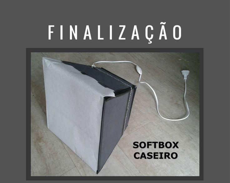 """Softbox Caseiro Facil, como fazer?   Primeiramente vamos esclarecer o que é, e para que serve um softbox: Softbox caseiro facil?  Você deve estar se perguntando, mas o que é um Softbox Caseiro Facil? É de comer? rsrs… Calma...o termo parece estranho, mas é bem mais simples do que parece.  Softbox, nada mais é que um difusor de luz, uma espécie de """"refletor"""", que tem a finalidade de emitir uma luz fria e suavizada, direcionada ao ponto a ser fotografado ou filmado."""