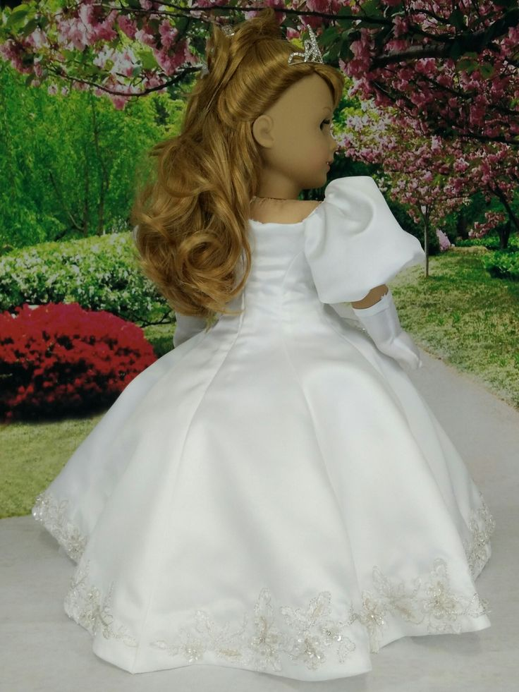 17 images about american girl doll princess dresses and for Paying for a wedding dress