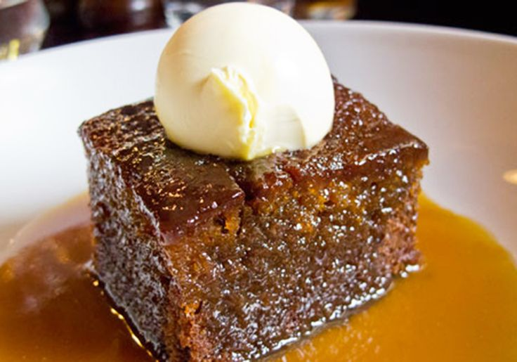 Homemade sticky toffee pudding recipe. http://pikalily.com/homemade-sticky-toffee-pudding-recipe/