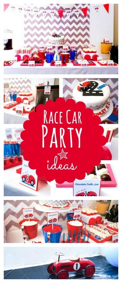 Boy's Vintage Car Themed Birthday Party - www.spaceshipsandlaserbeams.com