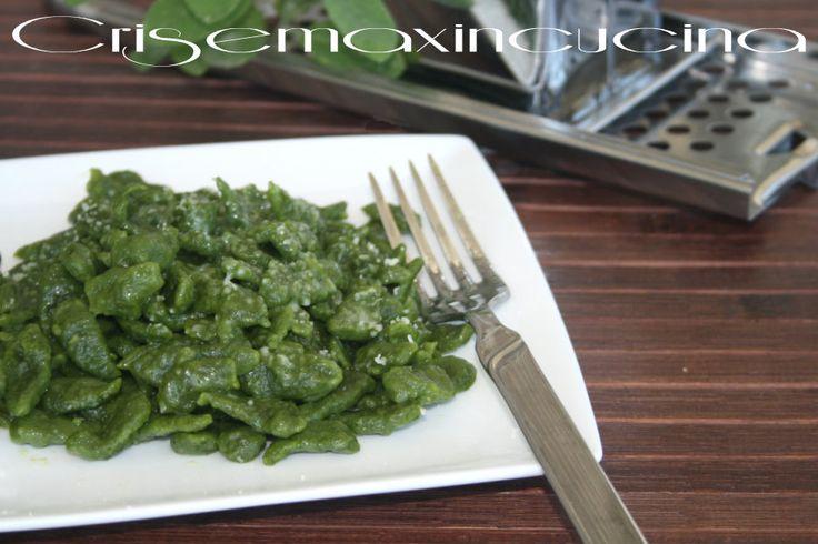 Gnocchetti tirolesi agli spinaci, ricetta regionale