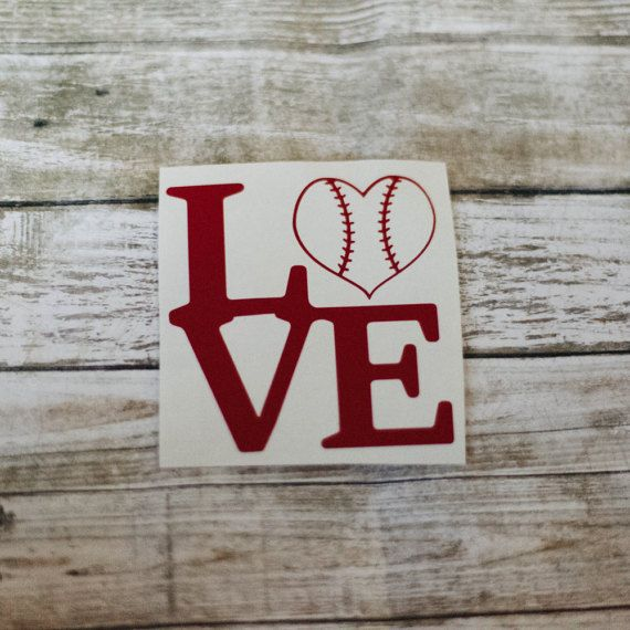 Hey, I found this really awesome Etsy listing at https://www.etsy.com/listing/476116727/baseball-love-decal-monogram-sticker-yet