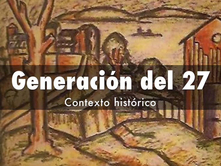 Presentación creada con Haiku Deck en la que se muestra el contexto histórico de la Generación del 27.