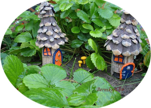 Fairy houses and other fairy garden ideas