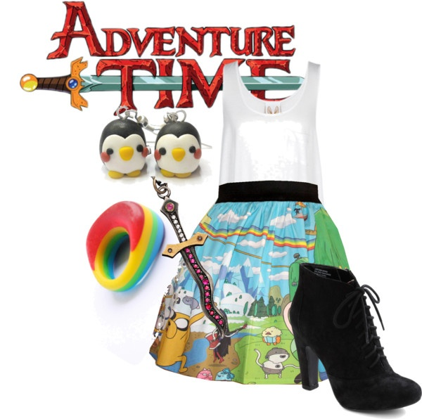"""""""Adveture Time"""" by heart41286 on Polyvore"""