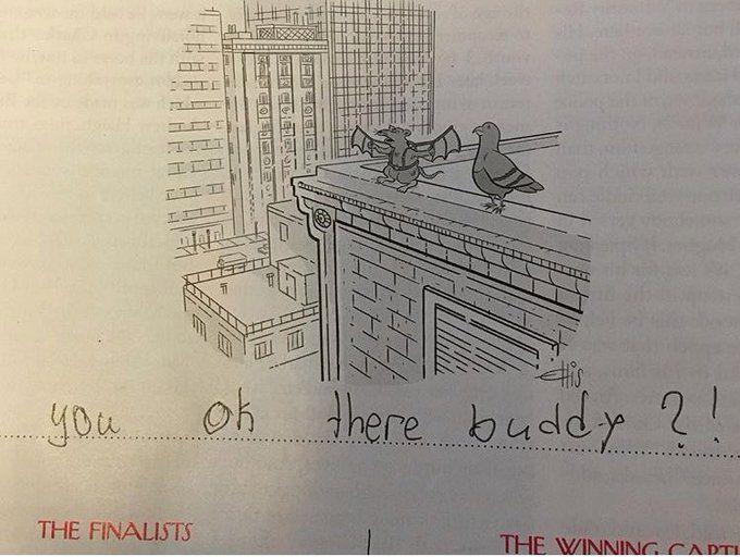 Bess Kalb On In 2020 Cartoon Caption Contest New Yorker Cartoons Caption Contest