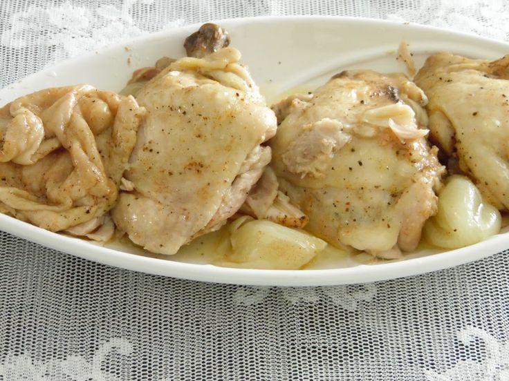Düdüklüde tavuk tandır tarifi