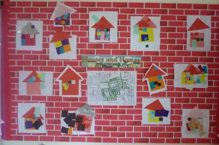 Houses and Homes classroom display photo - Photo gallery -