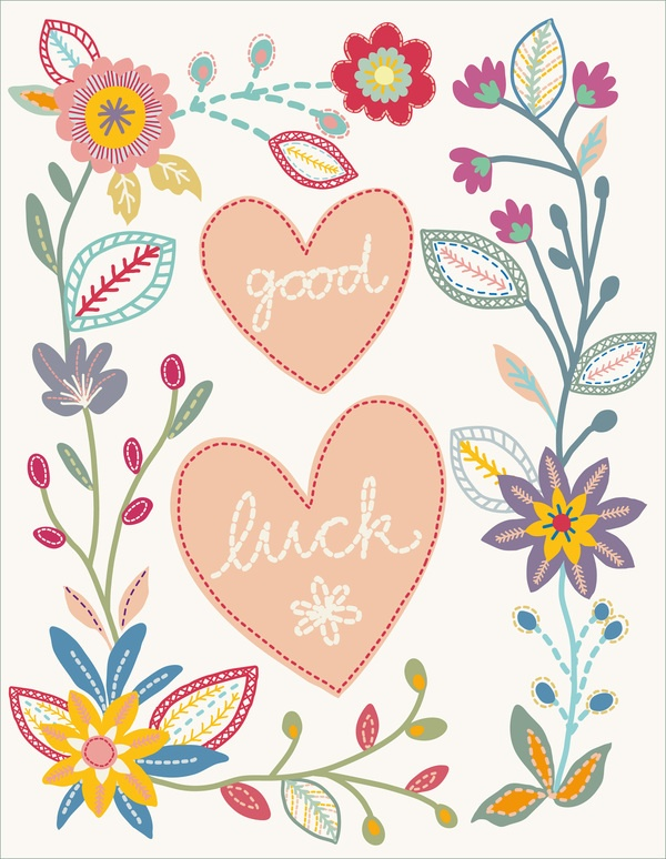 stitch greeting cards by little cube studio for children's design, via Behance
