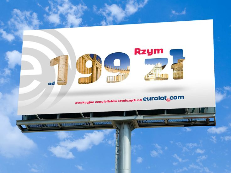 Eurolot outdoor ad.