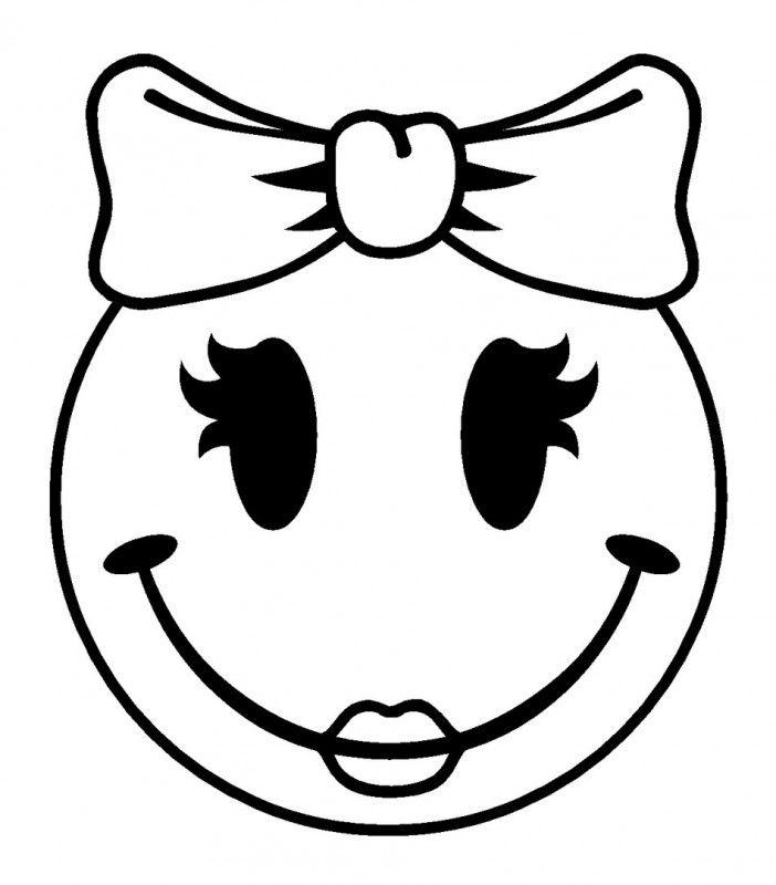 Smiley Cameo Prints En Svg Files