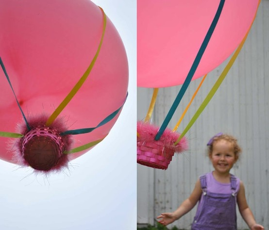 crafts for kids: Crafts For Kids, Hot Air Balloon, Balloon Craft, Kids Crafts, Hotairballoon, Air Balloons, Craft Ideas, Party Ideas, Crafty Ideas
