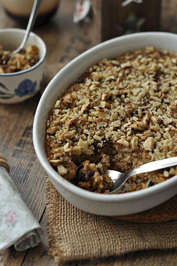 Sütőben sült gyümölcsös-zabkása Ezt a finom, egészséges reggelit kár lenne kihagyni! Akár előző este is elkészíthető, így reggel már nem lesz vele gondunk. Mivel rizsitallal készül, a laktózérzékenyek is bátran fogyaszthatják.