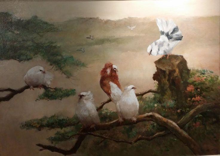 Sunrise by Choo Keng Kwang, 71 x 97cm, Oil on Canvas, 2013