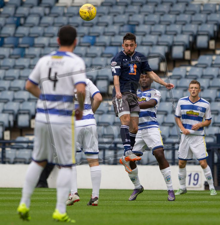 Queen's Park's Anton Brady in action during the IRN-BRU Cup game between Queen's Park and Morton.