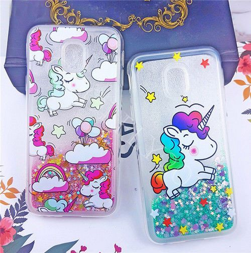 on sale fb43b 8c12c $5.54 - Unicorn Liquid Case Cover Glitter Dynamic For Samsung Galaxy ...