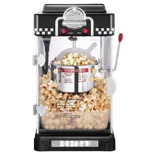 Great Northern Popcorn 21/2-Ounce Black Tabletop Retro Style Compact Popcorn New | eBay