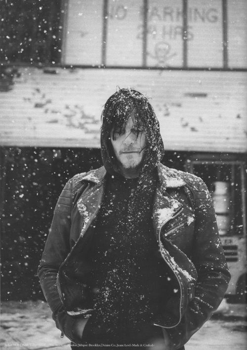 Norman Reedus photographed by Jamie Burke for So It Goes Magazine