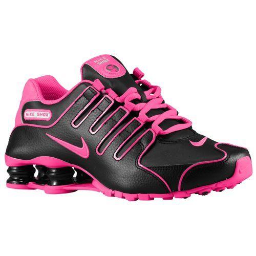 Nike Shox NZ - Women's - Running - Shoes - Black/White/Hyper Pink
