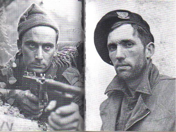 Français héros de Dieppe Sergents Lavezzi et Lanternier