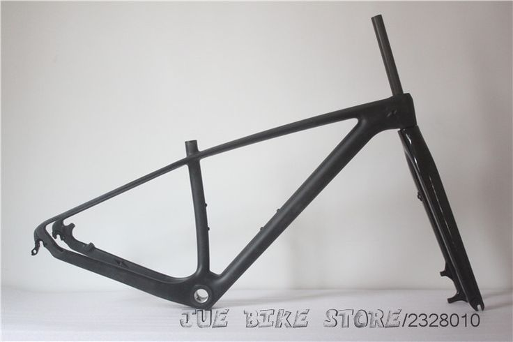 "426.55$  Buy here - http://ali0pz.worldwells.pw/go.php?t=32707021820 - ""Full Carbon UD Matte MTB 29"""" Wheel Mountain Bike Bicycle 29ER BSA Frame + Fork,15',17',19' size"""