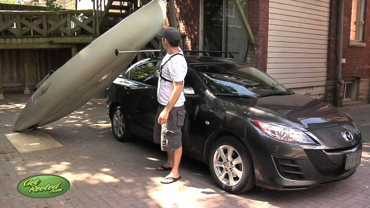 Loading the Hobie Mirage Pro Angler (12 ft) One Person