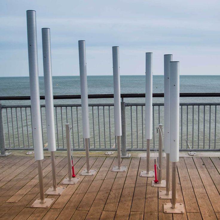 Outdoor Music Chimes - Tubular Bells - Pier Instruments