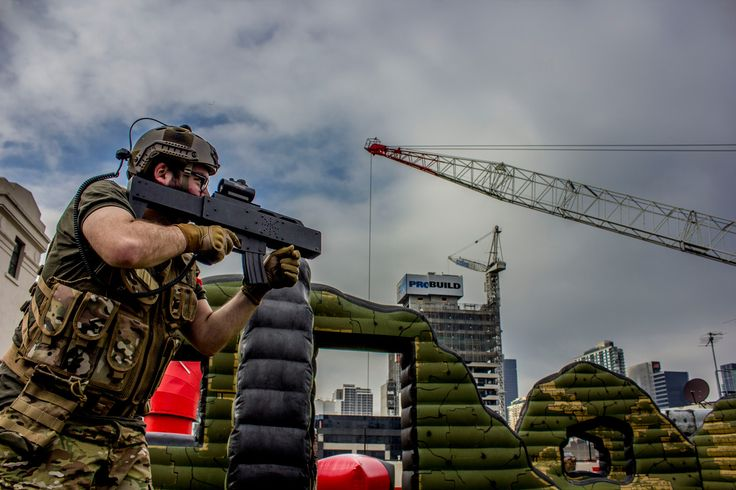 Rooftop Laser Skirmish Melbourne | Tech Assault Laser Skirmish Melbourne