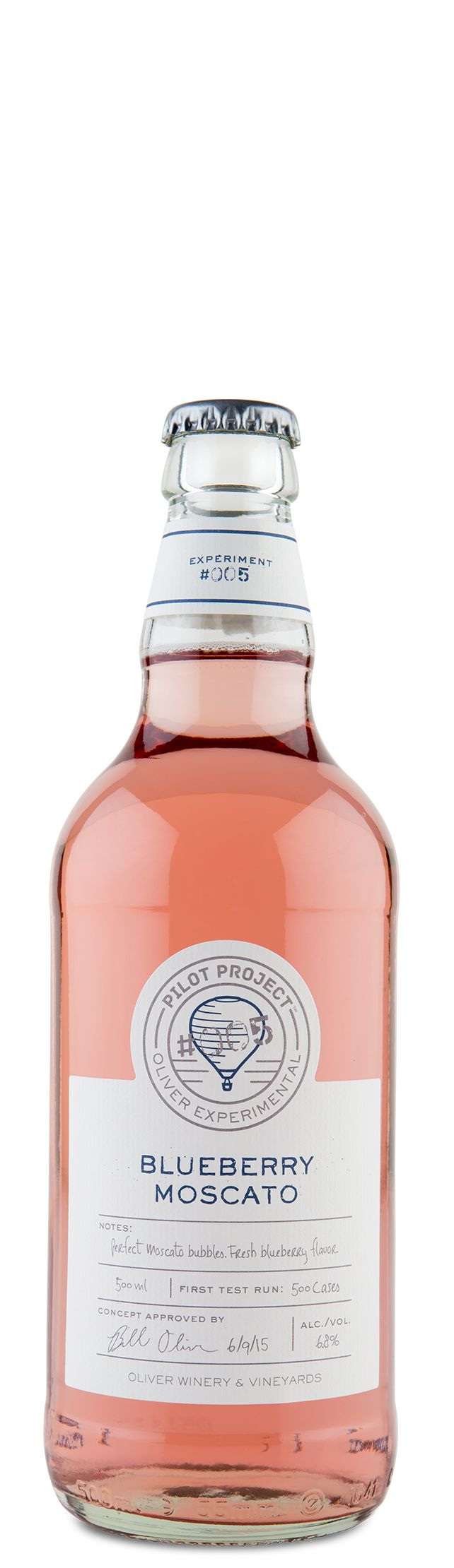 Oliver Blueberry Moscato - Fruity Moscato Wine