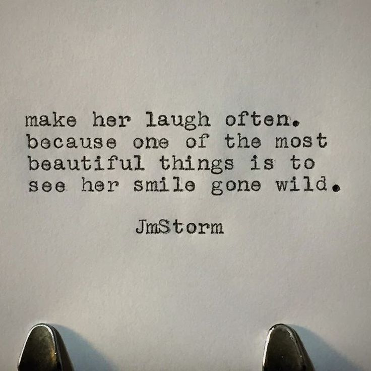"7,629 Likes, 45 Comments - JmStorm (@jmstormquotes) on Instagram: ""Her laugh #jmstorm #jmstormquotes"""