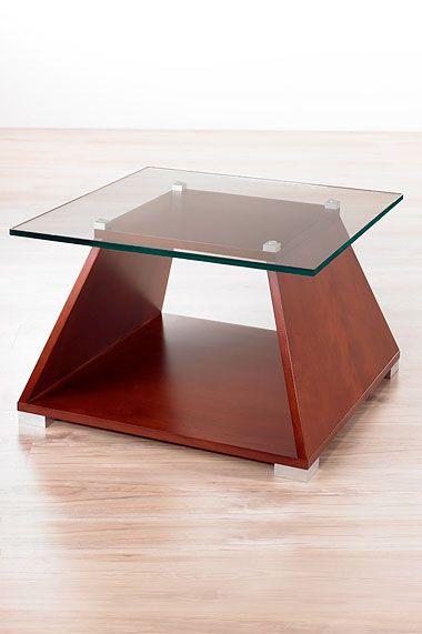 Mesa melanine -- Características: Mesa de melamina con apliques cromados. Infórmate más sobre este mueble dándole clic a la imagen.
