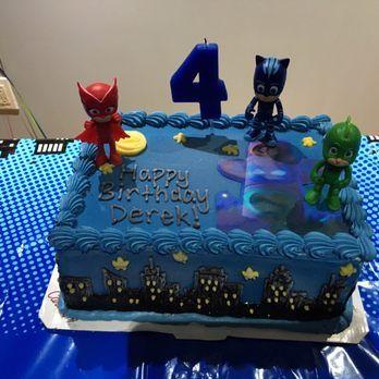 PJ MASK cake - Yelp