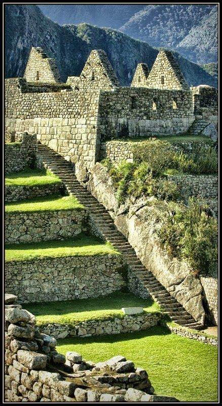 "Machu Picchu, Cusco, Peru - Most archaeologists believe that Machu Picchu was built as an estate for the Inca emperor Pachacuti (1438–1472). Often referred to as the ""Lost City of the Incas""."