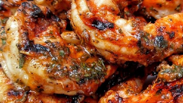 """Marinated Grilled Shrimp, grilled indoors or out -- """"A very simple and easy marinade that makes your shrimp so yummy you don't even need cocktail sauce! Don't let the cayenne pepper scare you, you don't even taste it. My 2 and 4 year-olds love it and eat more shrimp than their parents!"""""""