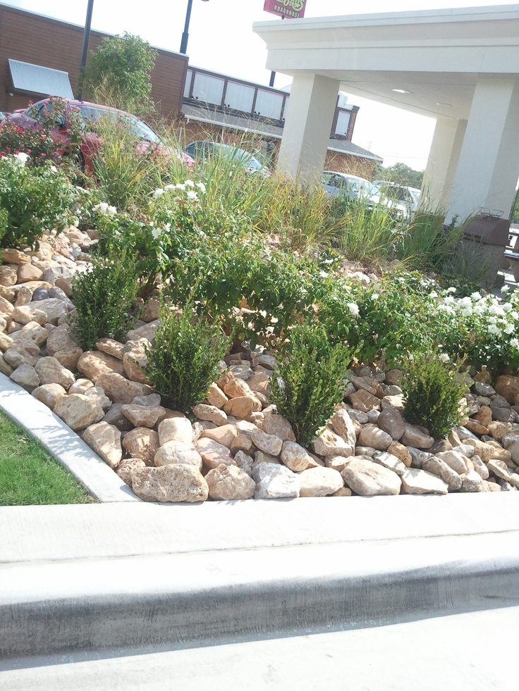 Landscape Boulders Dallas Tx : Com modern commercial landscaping on landscape pin