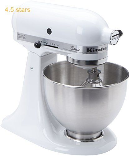 (Rating: 4.5 stars) #7: KitchenAid K45SS Classic Stand Mixer  White KitchenAid K45SS Classic Stand Mixer is a top choice among the popular selling items in Industrial  category. Click below to see its Availability and Price in your country.
