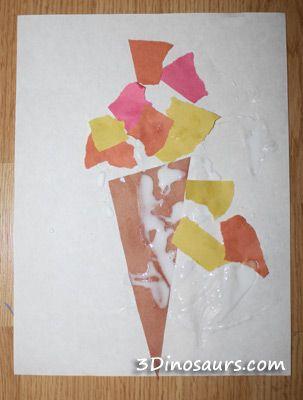 Torn Paper Torch