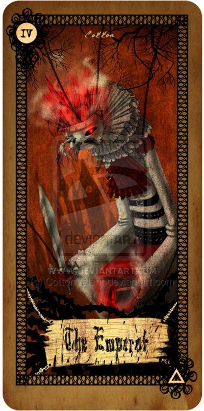 Tarot card - The Emperor by CottonValent.deviantart.com on @deviantART